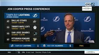 POSTGAME REACTION: Tampa Bay Lightning at New York Islanders 01/13/19