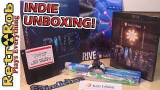 RIVE Indie Game Unboxing, Gameplay and Thoughts.