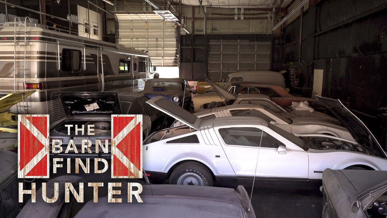 Forgotten Warehouse Full Of Cars Must Go