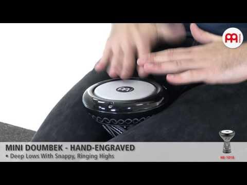 Mini Doumbek - Hand-Engraved - HE-1018