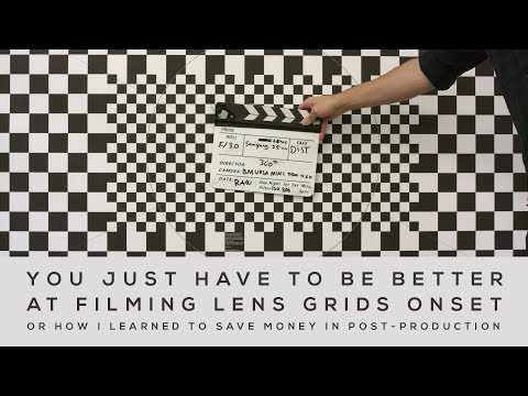 Why Do You Need A Lens Distortion Grid? VFX Onset Supervision