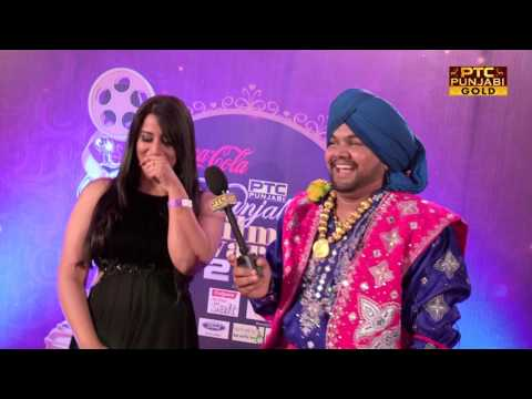 Mahie Gill dancing & singing at RED CARPET | PTC Punjabi Film Awards 2017