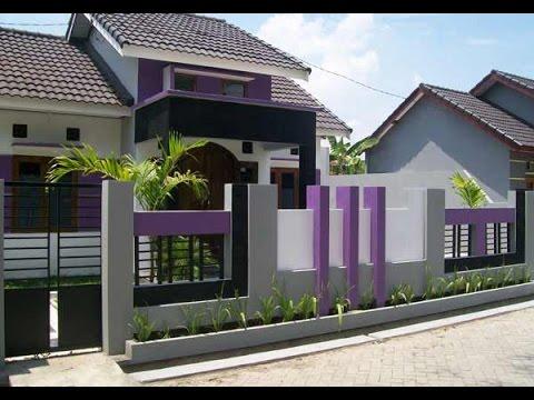 Contoh Gambar Pagar Rumah Minimalis, Contoh Pagar Rumah Minimalis - YouTube
