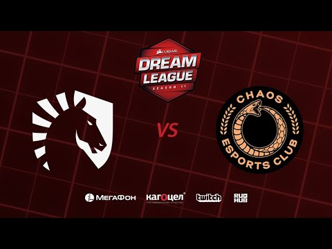 Team Liquid vs Chaos Esports Club, DreamLeague Season 11 Major, bo1 [Jam & Maelstorm]