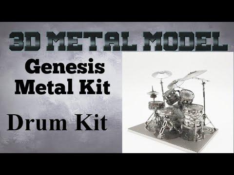 Genesis Metal Model Build - Drum Kit