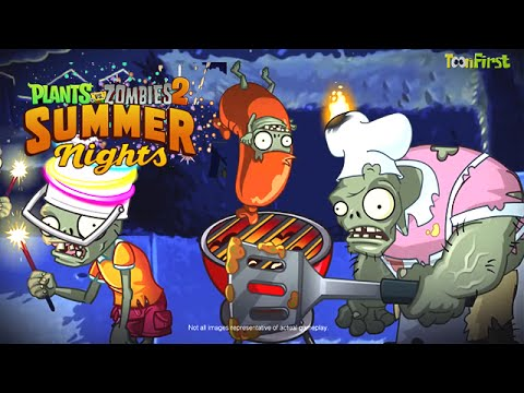 Plants vs. Zombies 2 Summer Nights Out Now Trailer and Strawburst