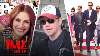 Matt Damon Gives Props To The New Cast Of 'Oceans 8' | TMZ TV