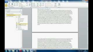 Tricks and Tips: Microsoft Word, Headings & Navigation Pane