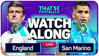 ENGLAND Vs SAN MARINO With Mark GOLDBRIDGE Live