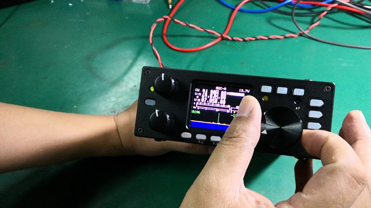 The brand new G90 HF SDR transceiver from Xiegu Tech in China by QRP HF  radio
