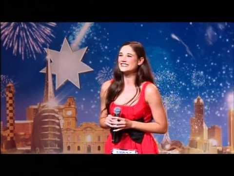 Natasha - Musical Singer - Australia's Got Talent 2012 audition 2 [FULL]