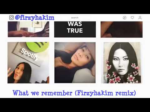 Anggun - What We Remember (Firzyhakim Remix) - Lyric Video