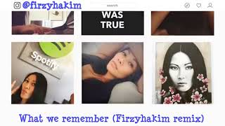 Video Anggun - What We Remember (Firzyhakim Remix) - Lyric Video download MP3, 3GP, MP4, WEBM, AVI, FLV Agustus 2018