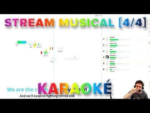 Stream Musical [4/4] : Karaoké! On chante plein de trucs!