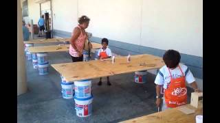 № 988 Дети Америки - уроки труда в Home Depot Miami Fl USA