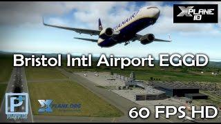 Bristol Intl Airport EGGD for X-plane 10 (Pilot Plus)