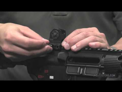Policestore - Daniel Defense AR-15/M16 Fixed Backup Front and Rear Sight