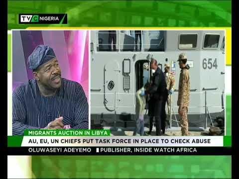 Oluwaseyi Adeyemo speaks on the auctioning of migrants in Libya