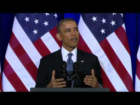 The world´s only superpower! - President Obamas Full NSA Speech