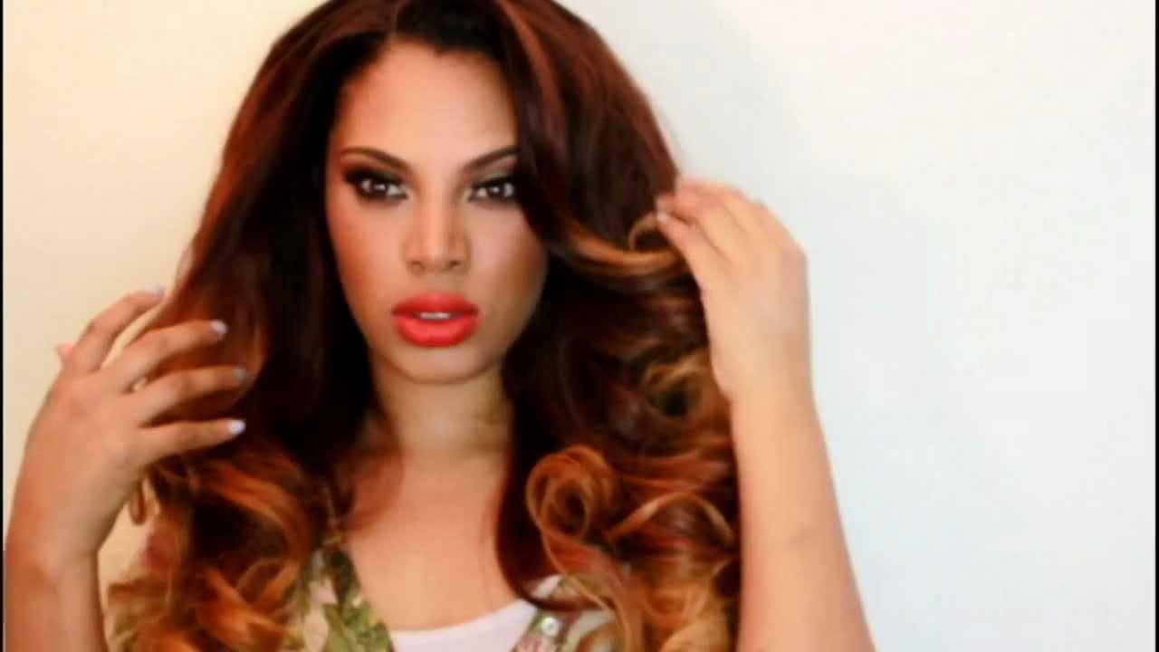 The Virgin Hair Fantasy Big Sexy Voluminous Curls Youtube