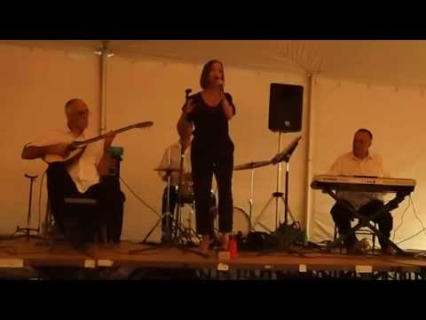 Maria Zoulis, Mike Zoulis and the band - Eastchester, New York