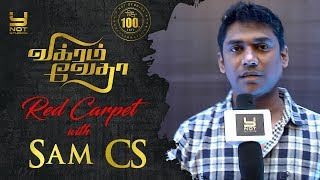 Pushkar Gayatri are the Pillars of Vikram Vedha - Sam CS | Vikram Vedha 100 Days Celebration