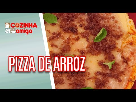 Pizza De Arroz - Raquel Novais | Cozinha Amiga (04/06/18)