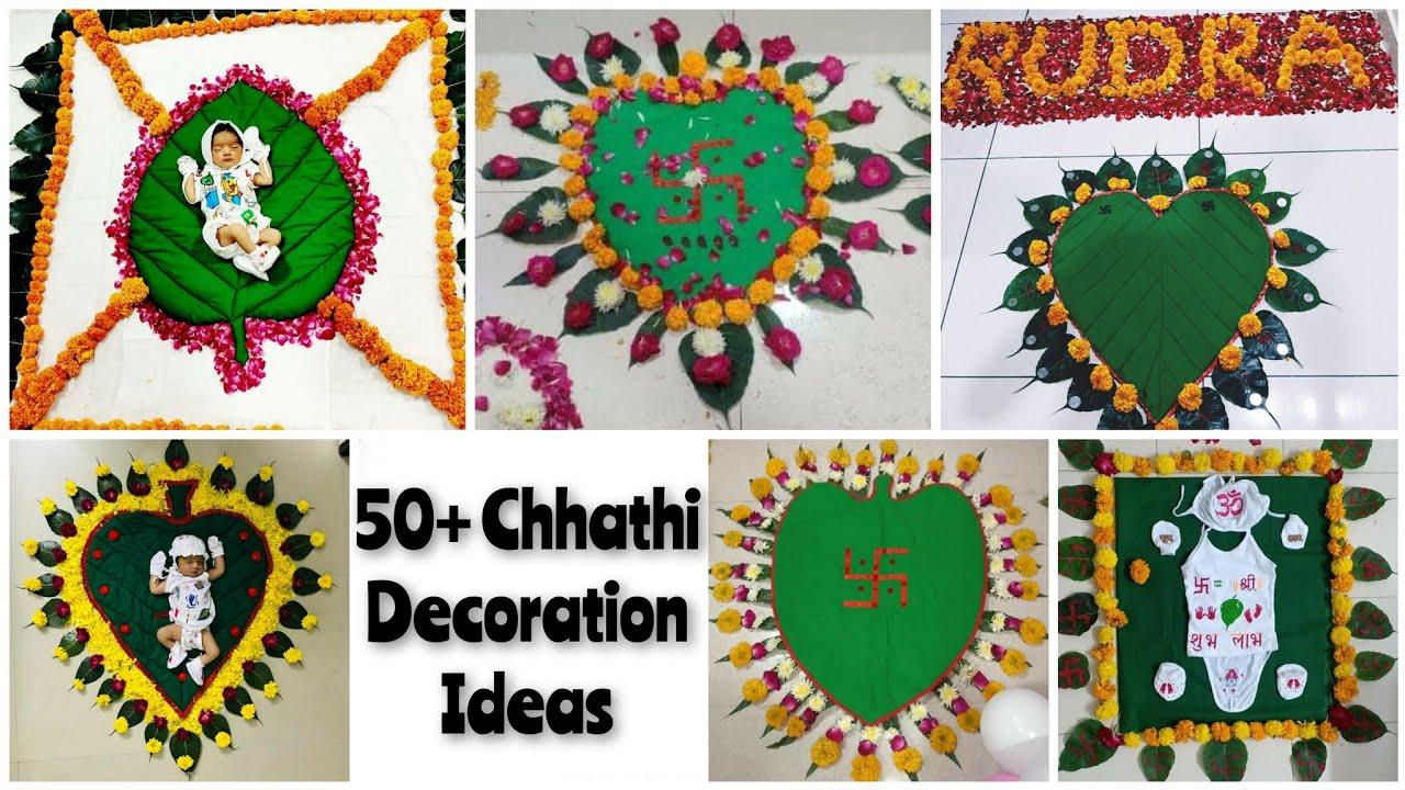 Download Chhathi decoration   Chhathi decoration ideas   Chhathi pooja   Chhathi ceremony   છઠ્ઠી પુજા