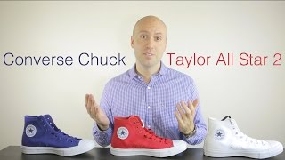 3 colors - Converse Chuck Taylor All Star 2 Review + Unboxing +On Feet + comparison - Mr Stoltz 2015