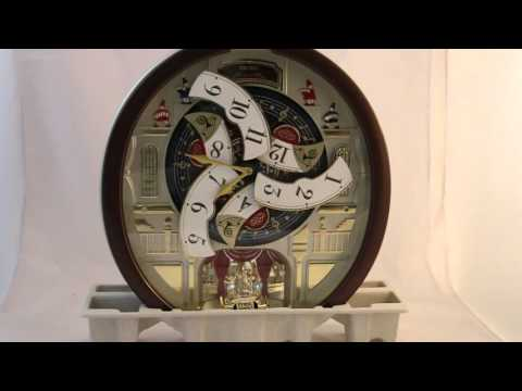 Seiko Melodies in Motion 2015 Animated Musical Wall Clock