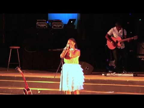 Zahara moved to tears performing
