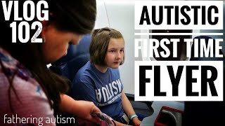 Autistic Girl's First Plane Ride | The Maass' In Manhattan #1