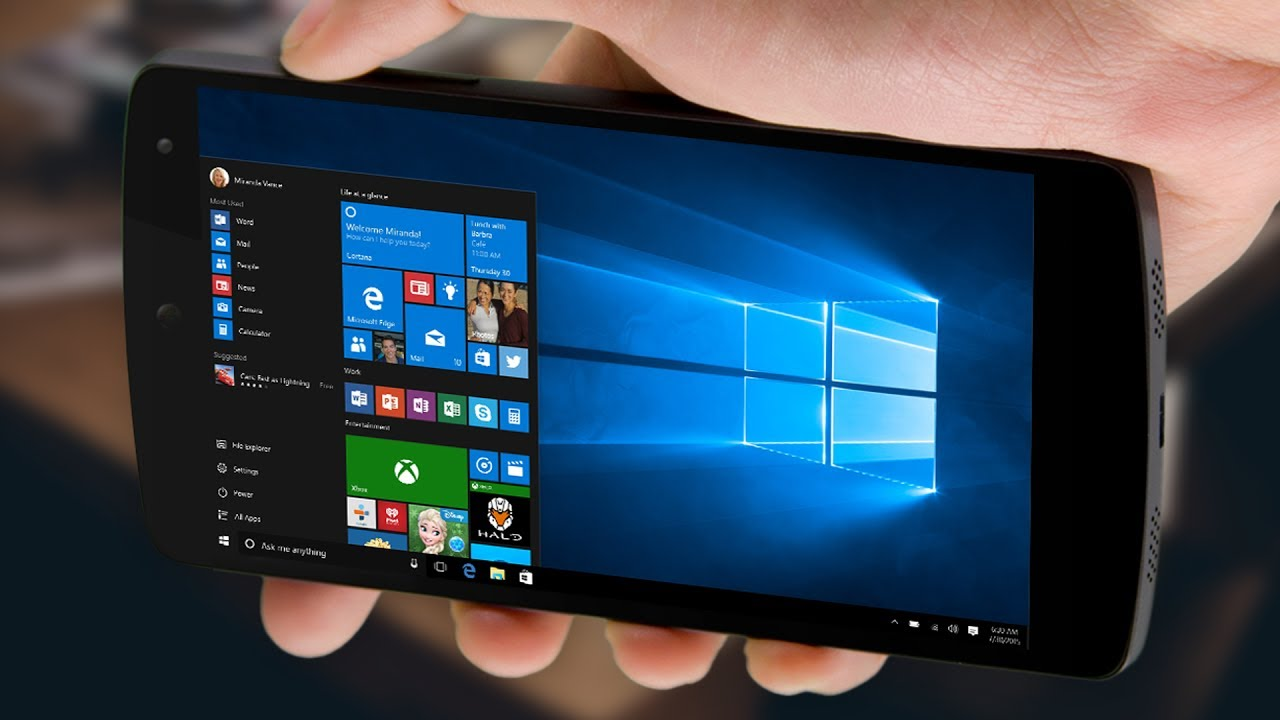 Installer Et Lancer Windows 10 8 7 Xp Sur Android