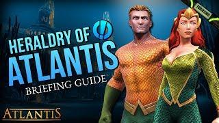 """DCUO Episode 33: """"Heraldry of Atlantis"""" Briefing Guide & Reward"""