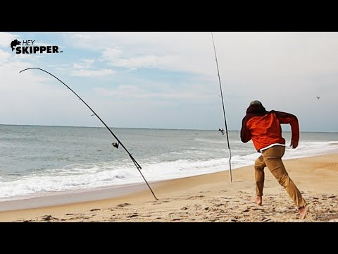 EASY SURF FISHING TIPS- How to catch the MOST fish on the beach!
