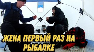 С русалкой на рыбалку Озеро Имандра ловим корюшку