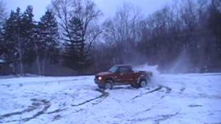 Chevy Zr2/GMC Highrider Snow Fun