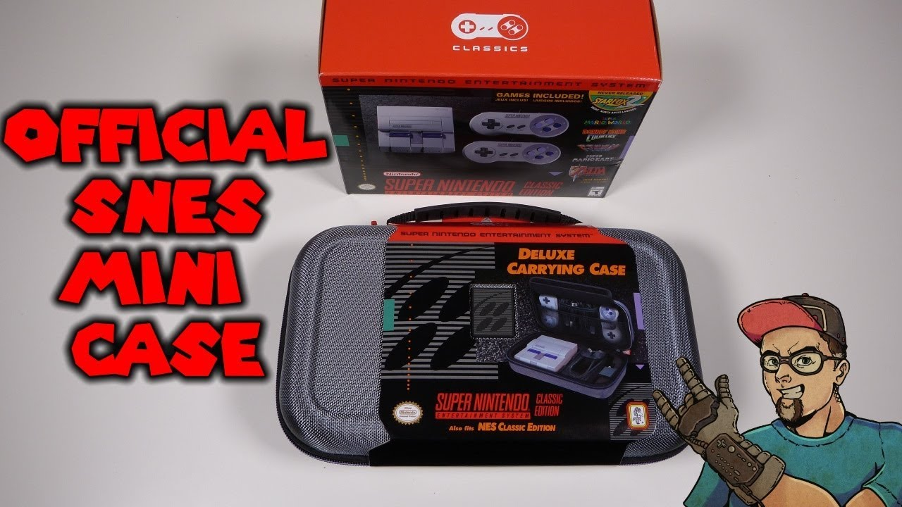 Official SNES Classic Edition Deluxe Carrying Case