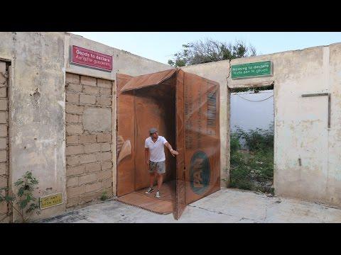 3D street art Aruba 'The making of'