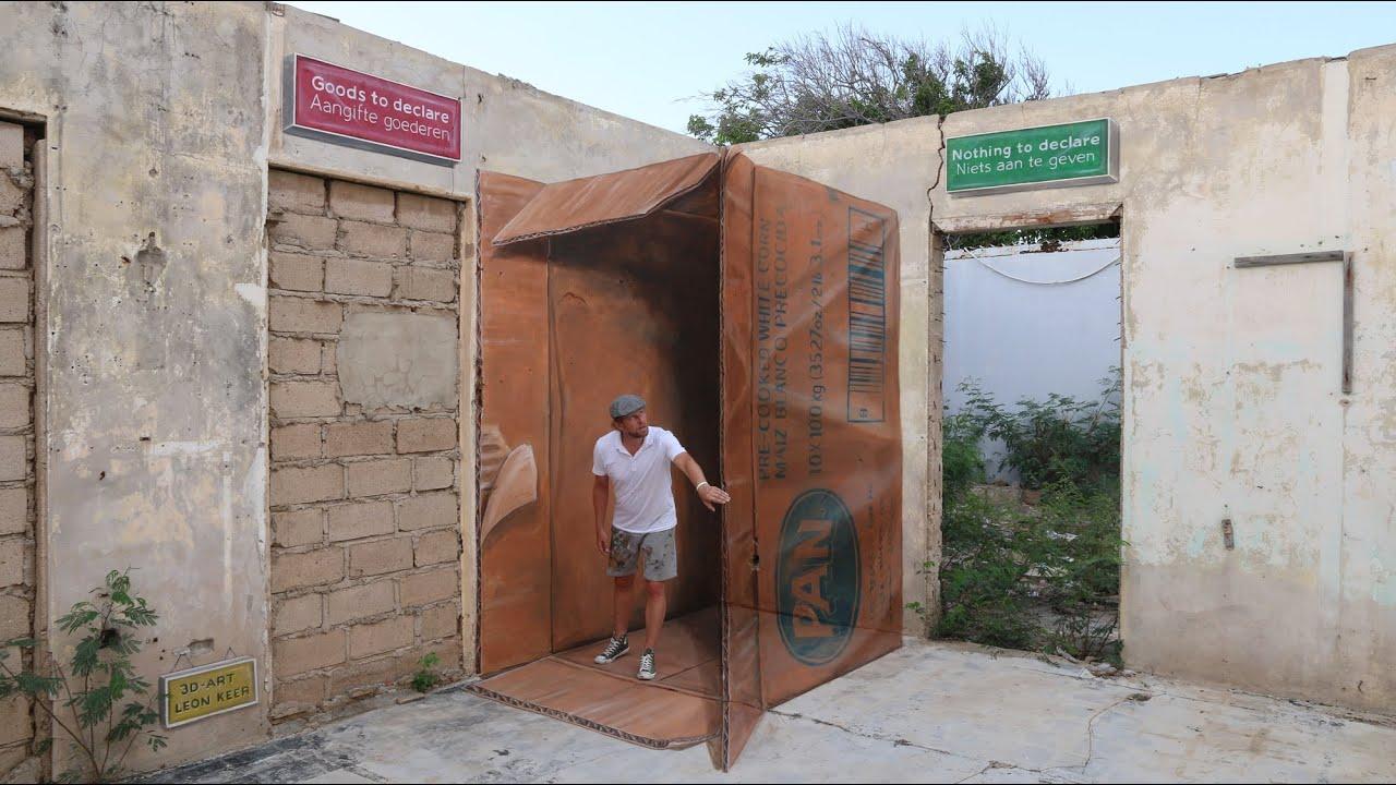 3d Street Art Aruba The Making Of Streetart