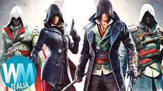Top 10 MIGLIORI MOMENTI di ASSASSIN'S CREED!