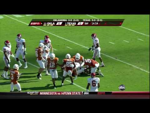 2009 Oklahoma vs Texas
