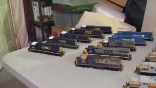 HO Layout Locomotive Update Part 1