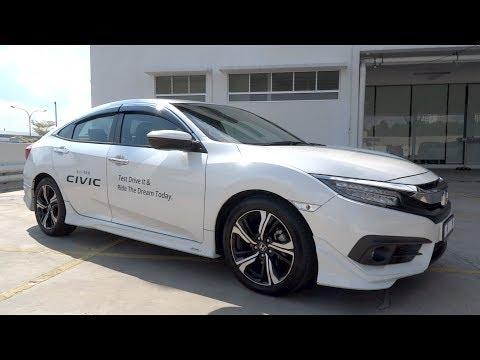 2016 Honda Civic 1.5 TC-P Start-Up and Full Vehicle Tour