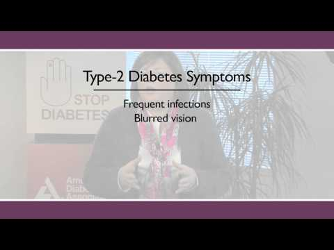 #24.3 Diabetes Symptoms & Warning Signs for Older Adults: Diabetes (3 of 6)