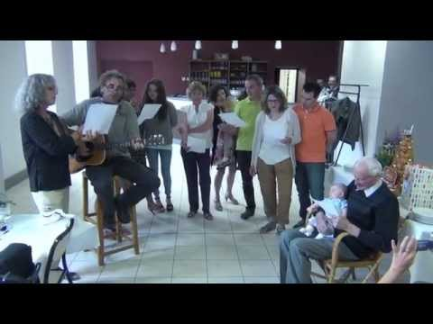Chanson anniversaire 100 ans papé Louis