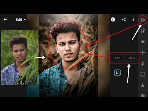 Lightroom Golden Tone effects editing | Snapseed golden tone effects retouching | HDR effects