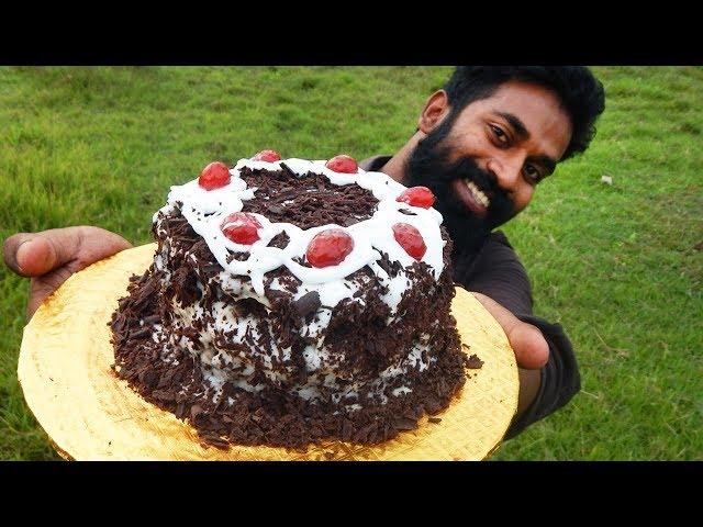 Home Made Black Forest Cake | ഓവൻ ഇല്ലാതെ അടിപൊളി ബ്ലാക്ക് ഫോറെസ്ററ് കേക്ക് | M4 Tech |
