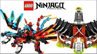 обзор набора LEGO Ninjago-кузница дракона 2017