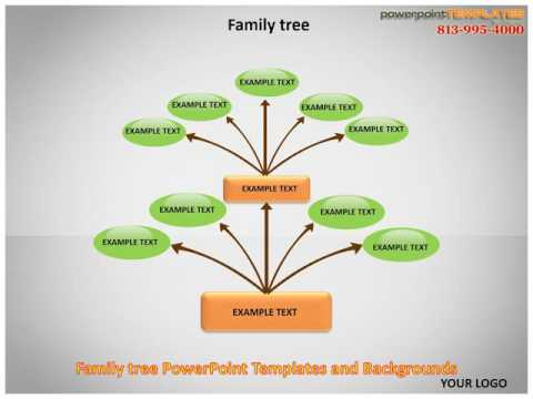 Family Tree PowerPoint Templates and Backgrounds - YouTube